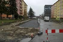 Nálepkova ulice v Ostravě-Porubě.