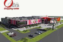 Takto mělo vypadat obnovené obchodní centrum ve Výškovicích, než byl projekt zastaven. Investor nyní zvažuje, jak prostranství využít dál.