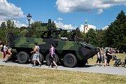 Den policie na Slezskoostravském hradě.