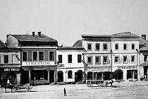 Moravská Ostrava před rokem 1890, kdy se ve městě ještě dodržovaly adventní zvyky a křesťanské svátky vůbec.