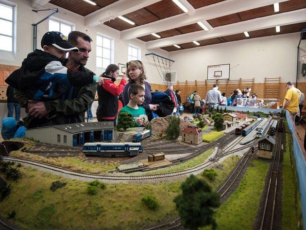 Třetí ročník výstavy železničních modelů a kolejišť v Ostravě-Zábřehu.