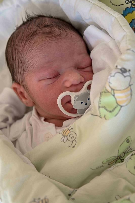 Ricardo Horváth, Karviná, narozen 8. září 2021 v Karviné, míra 50 cm, váha 3420 g. Foto: Marek Běhan