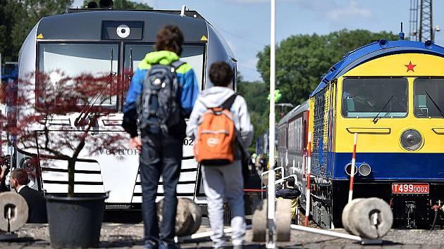 Mezinárodní veletrh drážní techniky Czech Raildays 2015 v Ostravě.