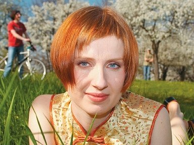 Zpěvačka kapely Miou Miou
