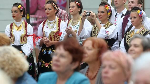 V Ostravě začal patnáctý ročník mezinárodního festivalu Folklor bez hranic.
