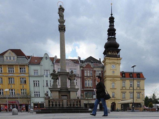 Ostravské muzeum sídlí v budově staré radnice na Masarykově náměstí.