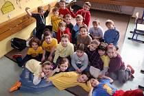 Žáci 3.A základní školy Bulharská v Ostravě-Porubě