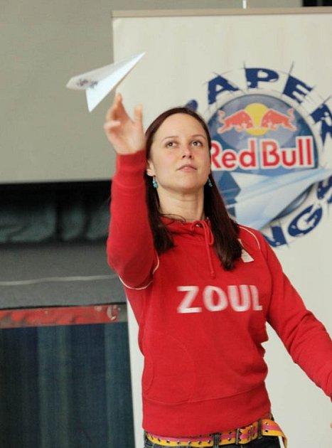 Z kvalifikační soutěže mistrovství světa v hodu vlaštovkou v Ostravě