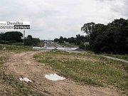 Úseky prodloužené Rudné a Severního spoje vypadají podobně. Silnice najednou končí a v cestě jsou zátarasy. Zatímco prodloužená Rudná není sjízdná, první úsek Severního spoje slouží coby dálniční přivaděč.