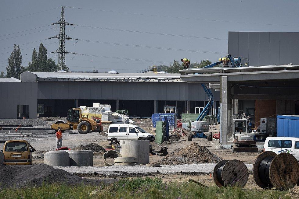 Outletové centrum v Ostravě, 31. července 2018.