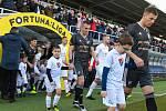 Utkání 21. kola první fotbalové ligy: 1. FC Slovácko - Baník Ostrava, 15. února 2020 v Uherském Hradišti.