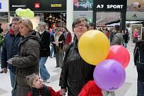 První kupující nanštívili novou galerii Shopping Parku v Ostravě-Zábřehu