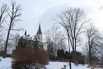 Kostel sv. Anny v Polance nad Odrou.