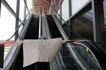 Pojízdné schody na Svinovských mostech