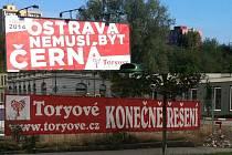 Billboardy strany Toryové