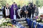 Pohřeb olašského krále Jana Lipy v Ostravě.