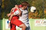 Brno 26.10.2019 - domácí SK Líšeň v bílém proti MFK Vítkovice
