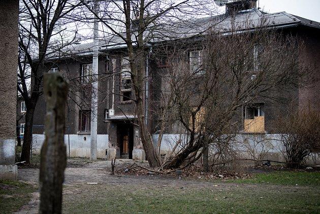 Městská část Mariánské Hory a Hulváky, 6.února 2020vOstravě. Na snímku lokalita Červený kříž.