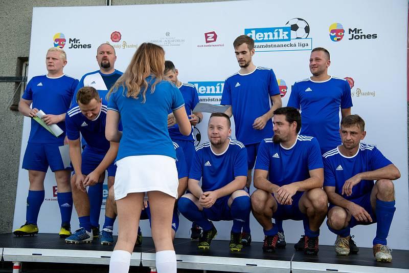 Zaměstnanecká liga Deníku, 22. září 2020 v Palkovicích. Tým Steeltec.
