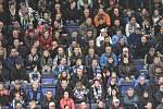 Utkání předkola play off hokejové extraligy - 1. zápas: HC Vítkovice Ridera - HC Sparta Praha, 11. března 2019 v Ostravě. Na snímku diváci.