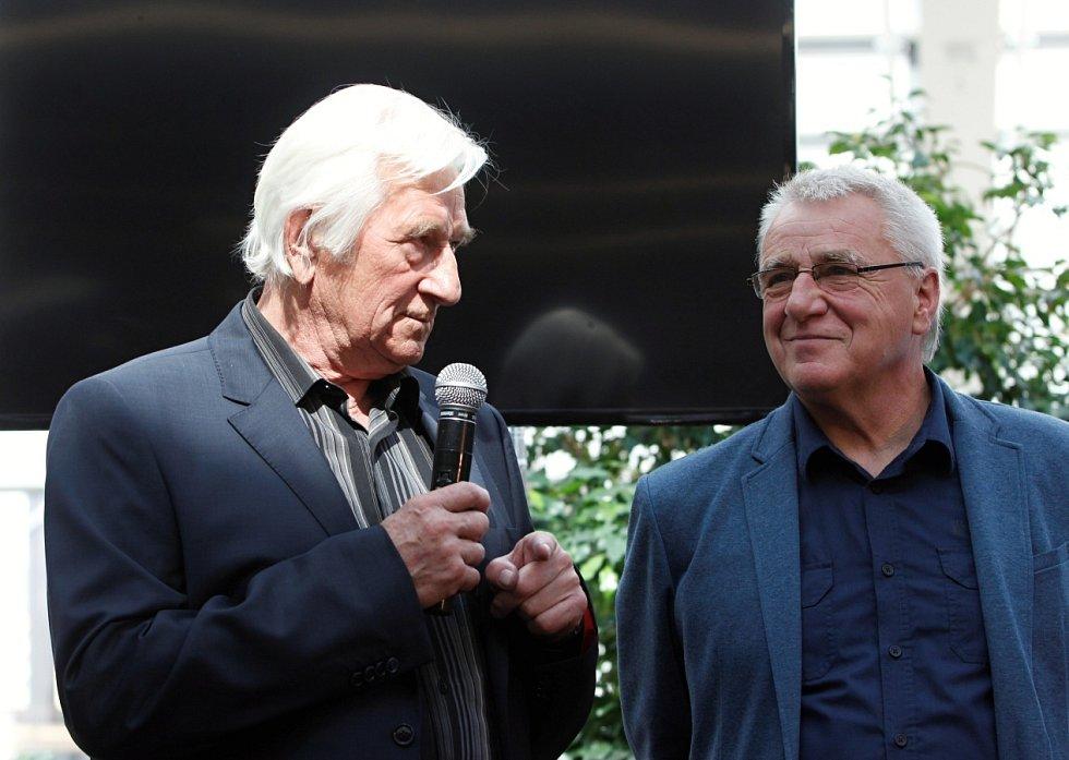 Karel Brückner a Petr Uličný (vpravo).