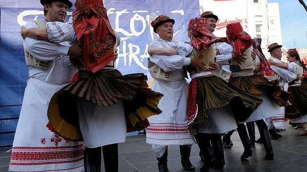 Festivalu městských folklorních souborů s mezinárodní účastí s názvem Folklor bez hranic Ostrava 2009 začal v Ostravě