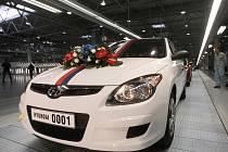 Slavnostní otevření automobilky Hyundai.
