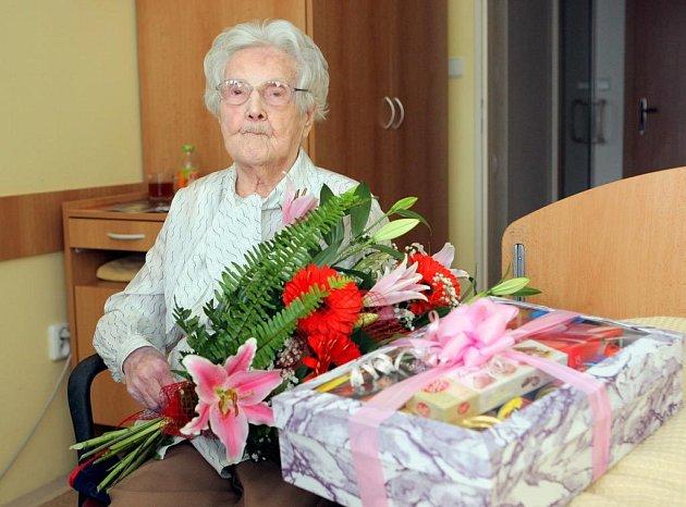 Emilie Kolínová oslavila 100 let