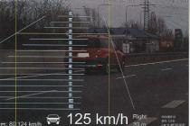 Snímek z policejních kontrol v Moravskoslezském kraji.