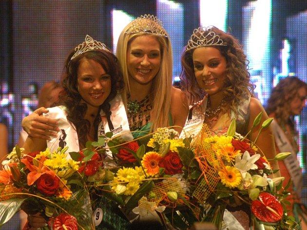 Z finále Miss Europe Junior v Ostravě.