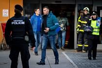 Zásah policie ve Fakultní nemocnice Ostrava - střelba, 10. prosince 2019 v Ostravě. Na snímku Tomáš Kužel - ředitel krajského ředitelství MS Kraje.
