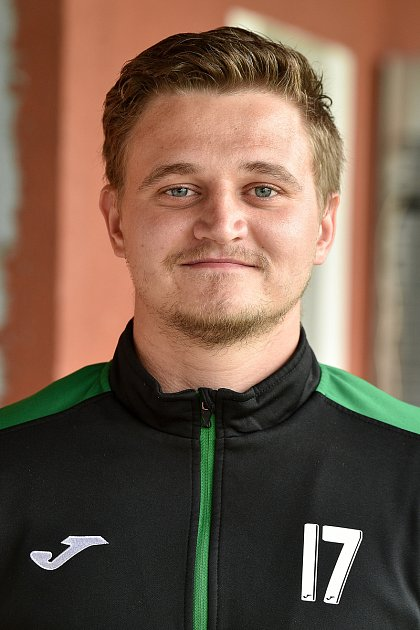 Dominik Mlčoch, obránce.