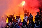 FC Baník Ostrava – SK Slavia Praha, fans Baníku