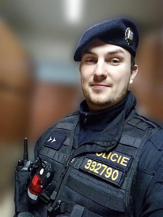 Policista Pavel Kikloš.