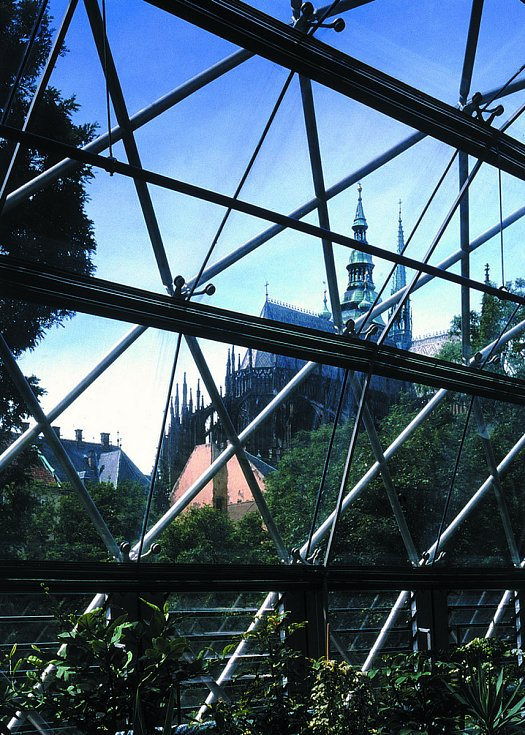 Oranžerie na Pražském hradě. Vizualizace: AI Design
