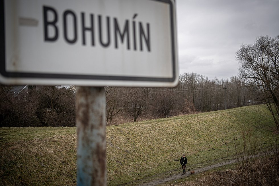 Hraniční přechod s Polskem, 27 února 2021 ve Starém Bohumíně. Roman Tancula poskytl deníku rozhovor.
