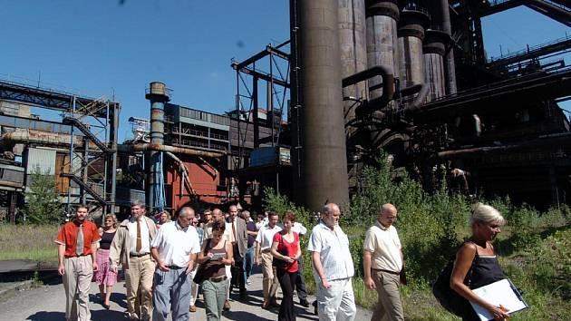 Začaly víkendové exkurze do Dolní oblasti Vítkovic