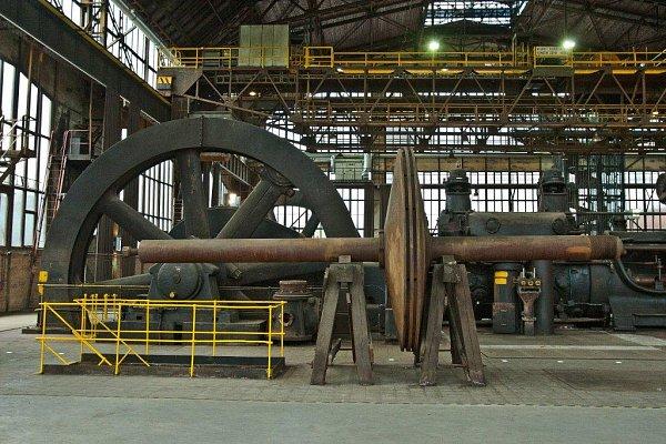 Mezi hlavní exponáty budou inadále patřit dvě obří devítisettunová plynová pístová dmychadla zlet 1938a 1948.