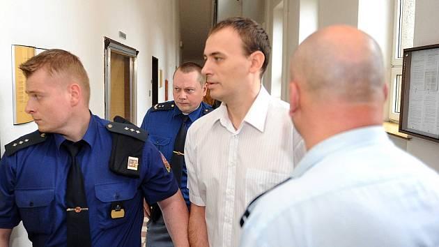 Jan Vajda u soudu