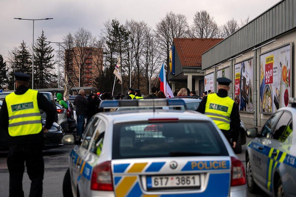 Procházka s Volným blokem, kterou pořádá Lubomír Volný (Poslanec Parlamentu České republiky), se uskutečnila 20. března 2021 ve Frýdku-Místku.