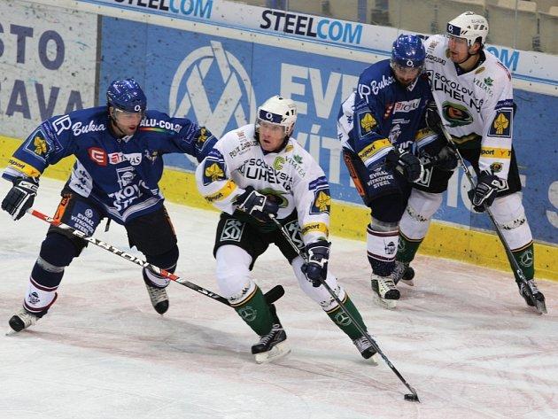Z utkání Vítkovice Steel – Karlovy Vary