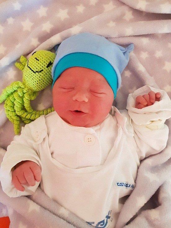 Matheo Kurečka, Opava, narozen 11. května 2021 v Opavě, míra 50 cm, váha 3190 g. Foto: Lucie Dlabolová, Andrea Šustková