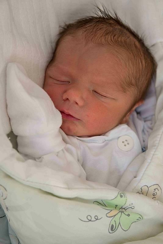 Sebastian Žáček, Karviná, narozen 6. září 2021 v Karviné, míra 50 cm, váha 2670 g. Foto: Marek Běhan