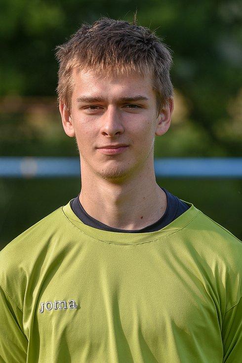 Maxim Pitřík, brankář.