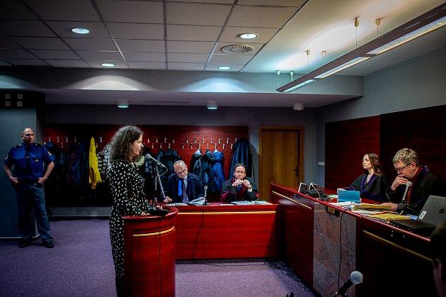 Okresní soud vOstravě si společně sKrajským soudem vOstravě pro návštěvníky připravily simulované hlavní líčení (trestní řízení) skomentářem a snáslednou diskuzí vrámci projektu Noc práva, 6.března 2020vOstravě.