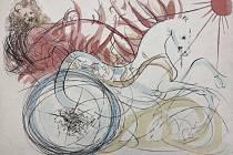 Ukázka z tvorby Salvadora Dalího.