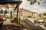 Wellness hotel. Hotel Augustiniánský dům v Luhačovicích pro své hosty přichystal novinku v podobě zahrady smyslů.