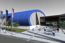 VIZUALIZACE: Atletická hala Vítkovice