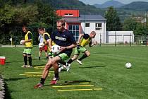 René Bolf při tréninku