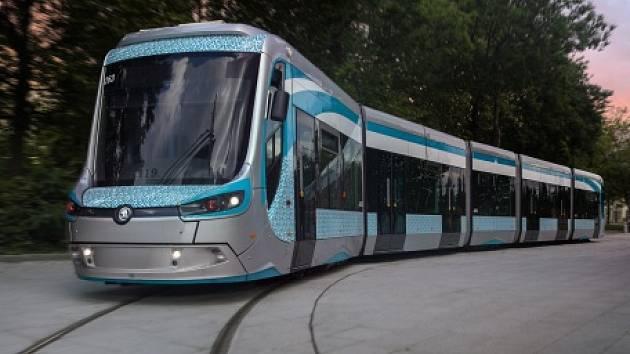 Bateriová tramvaj ForCity Classic. Ilustrační foto.